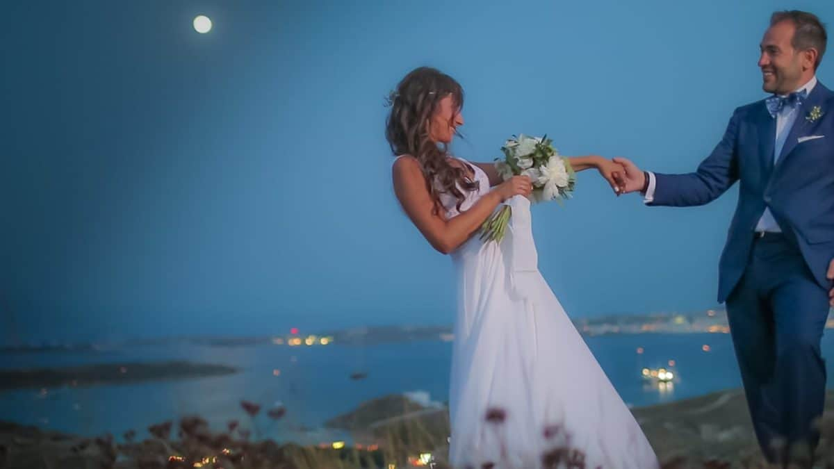 The perfect wedding in Paros island - by Beyond Vision Wedding Films